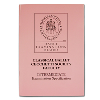 Cecchetti Classical Ballet Intermediate Exam Specifications