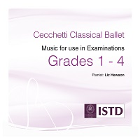 Cecchetti Grades 1-4 Music for use in Class & Examinations