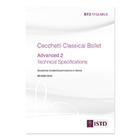 Cecchetti Classical Ballet Advanced 2 Technical Specifications - Revised 2019