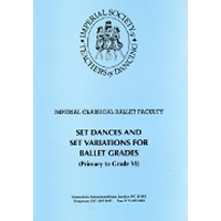 Imperial Ballet Music Manuscript - Set Dances for Grades