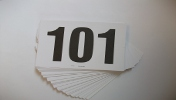 Competition Number Cards: 101-200
