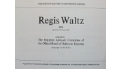 Sequence Dance - Regis Waltz