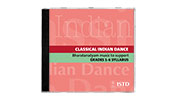 Classical Indian Dance, Bharatanatyam music to support Grade1-6 Syllabus CD